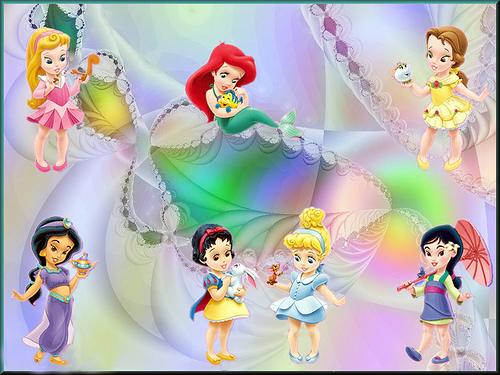 Fiestas infantiles :Baby princesas Disney « Angel o Demonio