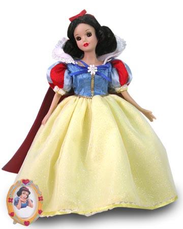 muñeca porcelana blancanieves 2004