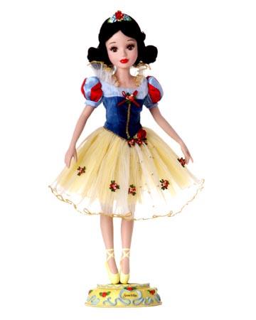 muñeca porcelana blancanieves bailarina 2004
