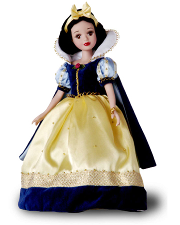 muñeca porcelana blancanieves vacaciones 2004
