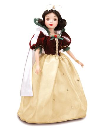 muñeca porcelana blancanieves vacaciones reales 2004