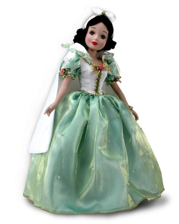 muñeca porcelana blancanieves vacaciones romance 2004