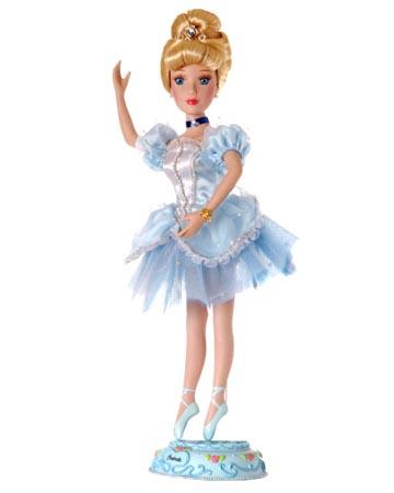 muñeca porcelana cenicienta bailarina 2004