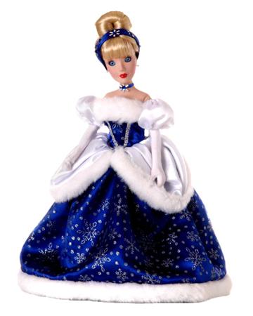 muñeca porcelana cenicienta especial 2004