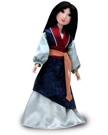 muñeca porcelana mulan Celebración 2004