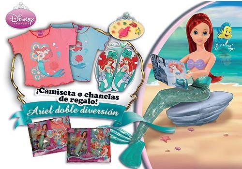 La Sirenita muñeca verano