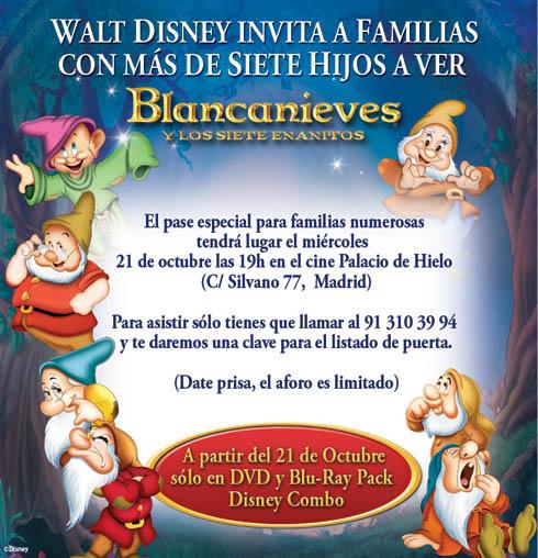 Blancanieves-familias