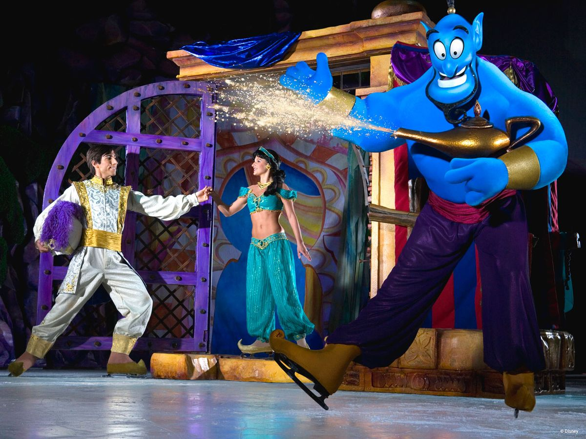 Disney On Ice Suenos De Princesas Recrea A Traves De Un Artistico
