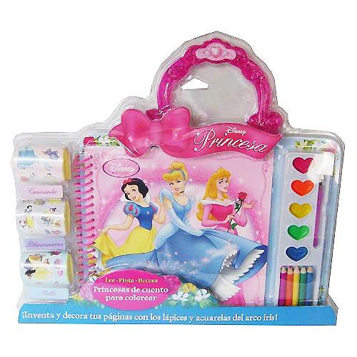 Libro: Princesas de cuento para colorear | Princesas Disney, Imagenes ...
