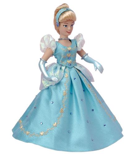 Princesas de Porcelana 3: Cenicienta vestido azul (clásico ...