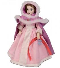 Princesas de Porcelana 13 Bella con capa de Invierno 001
