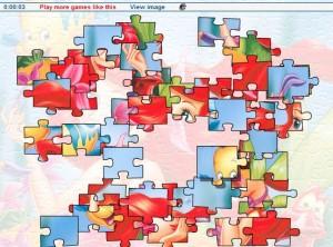 juego puzzle ariel enamorada