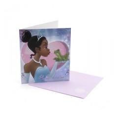 tiana y el sapo tarjeta de san valentin