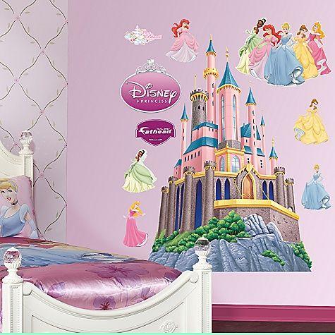 Mural: Castillo Princesas Disney | Princesas Disney, Imagenes, Videos ...