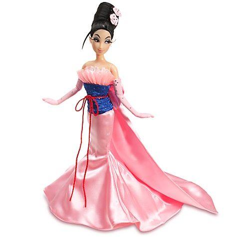 Muñeca: Mulan Limited Edition Disney Princess Designer Collection ...