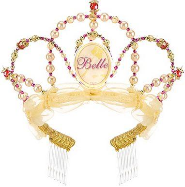 Este Es El Set De Corona Y Monedero De Princesa De La Bella Y La