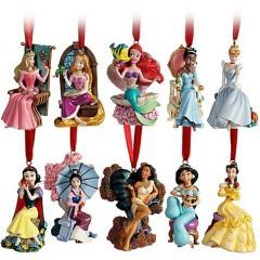 Princesas Disney Adornos Navidad 2011 001