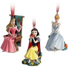 Princesas Disney Adornos Navidad 2011 002