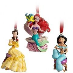 Princesas Disney Adornos Navidad 2011 003
