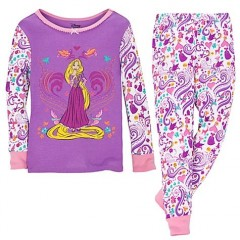 Princesas Disney Pijama Rapunzel 2011 Disney Store