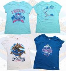 Medio Maraton Disney 2012 Camisetas