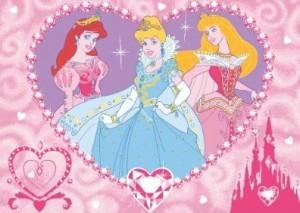 Alfombra de las princesas disney - Alfombras infantiles disney ...