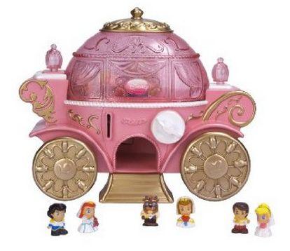 Dispensador carroza de Princesas Disney Squinkies ...
