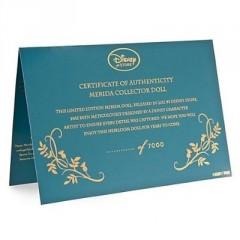 Merida Brave Collectors Edition Diploma de autenticidad
