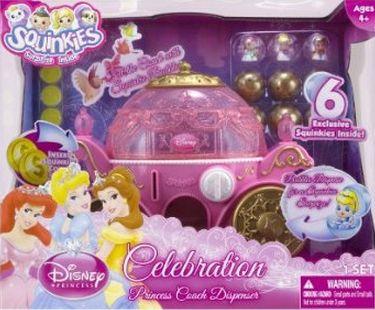 Dispensador carroza de princesas disney squinkies - Carroza cenicienta juguete ...