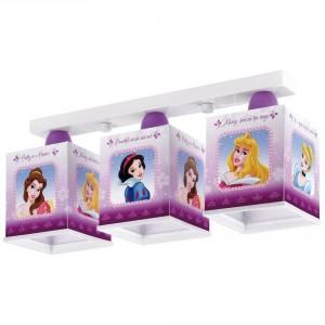 Lampara cuadrada Princesas Disney