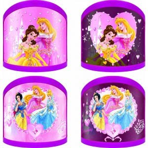 Lamparas variadas Princesas Disney