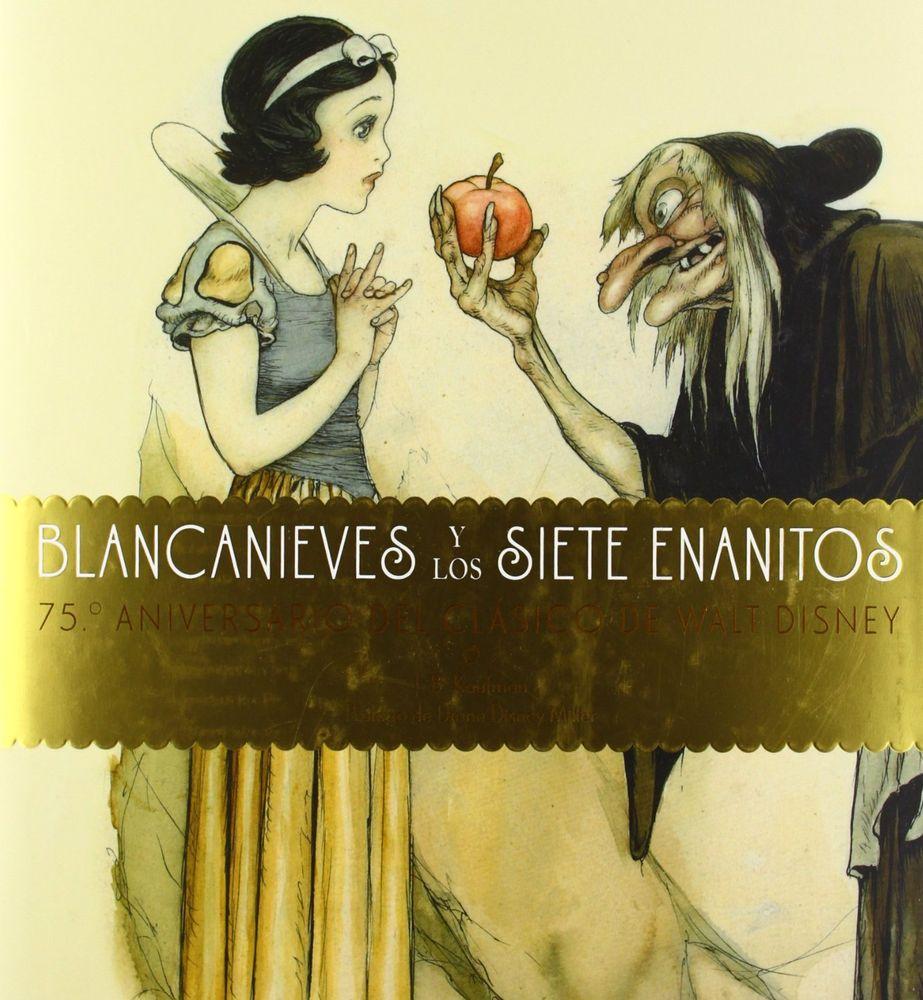 Libro: Blancanieves y los siete enanitos – 75 Aniversario