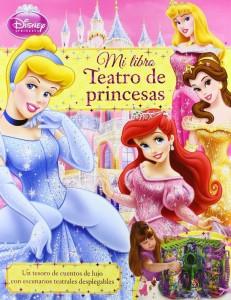 Mi Libro Teatro De Princesas Disney