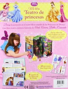 Mi Libro Teatro De Princesas Disney Contraportada