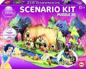 Puzzle 3D Kit Scenario Blancanieves