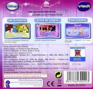 Princesas Disney Storio 2 contraportada