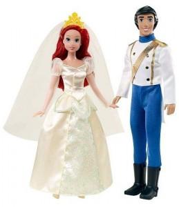 Munecas La Sirenita La boda de Ariel y Eric