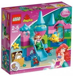 LEGO Duplo El Castillo Submarino de Ariel caja
