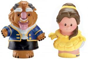 Little People Disney Bella y Bestia Figuras