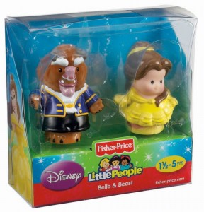 Little People Disney Bella y Bestia caja