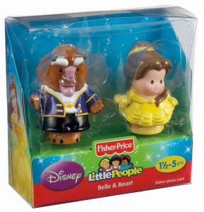 Little People Disney Bella y Bestia caja