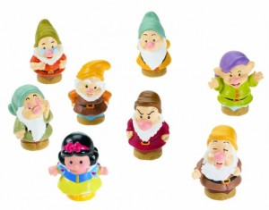 Little People Disney Blancanieves y los Siete Enanitos Figuras