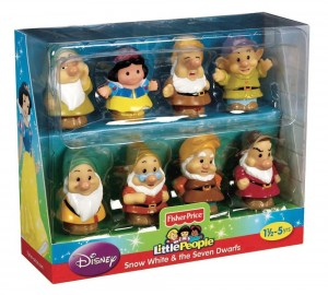 Little People Disney Blancanieves y los Siete Enanitos caja