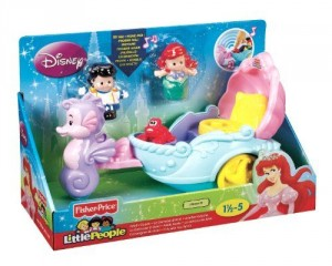 Little People Disney Carroza Cantarina De Ariel caja