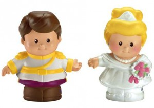 Little People Disney Cenicienta y Principe Figuras
