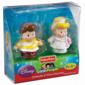 Little People Disney Cenicienta y Principe caja