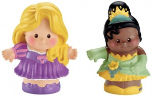 Little People Disney Rapunzel y Tiana Figuras
