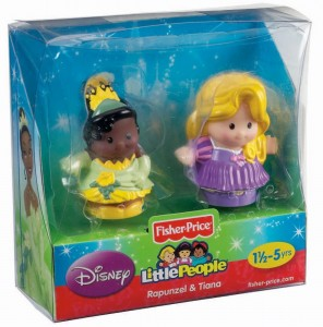 Little People Disney Rapunzel y Tiana caja
