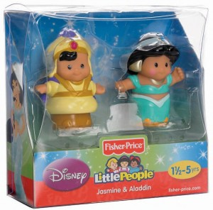 Little People Disney Yasmin y Aladdin caja