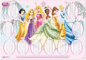 Multiplicar con las Princesas Disney